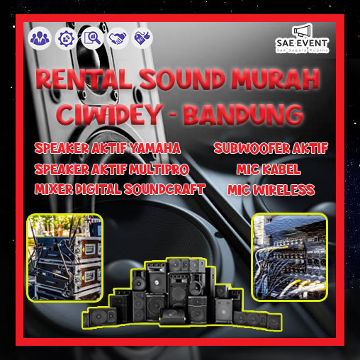 rental sound murah ciwidey
